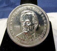 1988 U.S. PRESIDENT GEORGE W. BUSH DOUBLE EAGLE COIN PROOF TOKEN