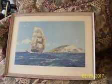 Frank Henry Mason Lithograph Colour Collotype Print Publisher Albert Bell & Co