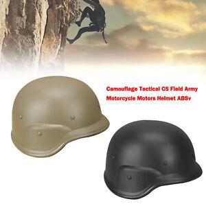 Camouflage Tactical CS Field Army Motorcycle Motors Helmet ABS New