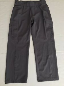 Women's Eddie Bauer Gray Outdoor Hiking Active Cropped Pants Size 10