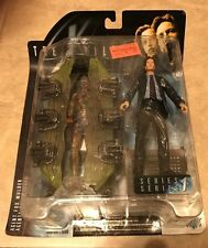 X Files Fight The Future Agent Fox Mulder w/ Mummy Figure New Sealed Series 1