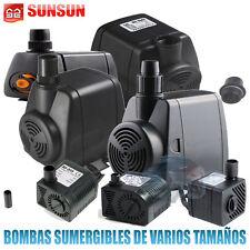 BOMBAS DE AGUA SUMERGIBLES ACUARIOS BOMBA DE AGUA SUMERGIBLE FUENTES ESTANQUES