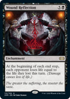 1x Wound Reflection NM, English MTG Double Masters