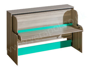 WALL BED with DESK ( Murphy bed with DESK  ) or DESK ORGANISER or TOP CUPBOARD