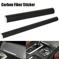 4D Premium Gloss Carbon Fiber Vinyl Wrap Film Sticker Bubble Free Air Release