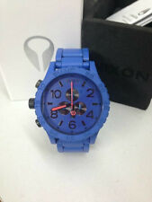 51-30 Chrono Blue Paint Men's Wrist Watch