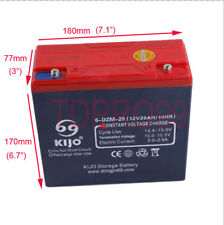 12V 20AH Sealed Lead Acid Universal Rechargeable Battery 6-DZM-20 Scooter ATV