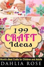 Arts and Crafts,Craft,Craft for Kids,Craft Supplies: 199 Craft Ideas :...