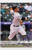 2018 Topps NOW MLB 462 COLORADO ROCKIES Trevor Story RARE CARD ONLY 173 MADE