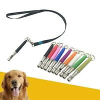 Dog Training Whistle UltraSonic Obedience Stop Barking Pitch Sound Command C9Z0