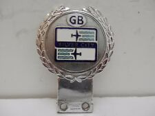 Silver City Airways Badge by J R Gaunt London. Car Club Badge.FREE SHIPPING
