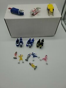 Vintage Micro Machines Power Rangers Dino Zord and Figure Lot
