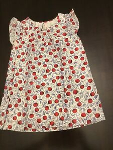 Bonpoint Cherry Print Dress 6