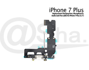 "Charging Dock Port & Mic & Headphone Jack Flex Cable For iPhone 7 Plus (5.5"")"