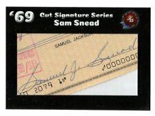 SAM SNEAD 2019 HISTORIC AUTOGRAPHS '69 CUT SIGNATURE AUTO *GOLF* D. 2002