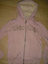 Sweatjacke Strickjacke eight 2 nine hellrosa rose Kapuze mit Plüsch Fell Gr. S