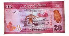 Sri Lanka 20  rupie 2010    FDS  UNC     Pick 123 a    lotto 3541