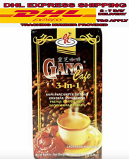 10 Boxes Gano Excel Cafe 3 in 1 Coffee Ganoderma Reishi Halal New DHL EXPRESS
