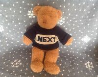 "NEXT BROWN EDWARD TEDDY BEAR SOFT PLUSH COMFORTER TOY 15"" TALL"