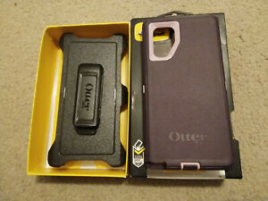 OtterBox Defender Series Rugged Case& Holster for Samsung Galaxy Note 10, Purple
