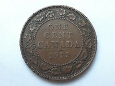 Canada 1 cent 1912 George V