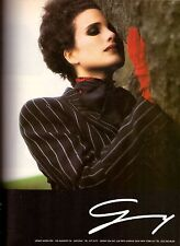 1988 Genny Andie MacDowell Fashion Retro Print Advertisement Ad Vintage VTG 80s