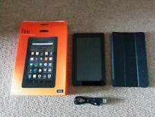 "AMAZON FIRE Tablet, Pantalla De 7"", Wi-Fi, 8 GB, Negro"