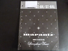 Original Service Manual Marantz ST-64 / ST-64L