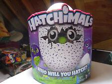 Hatchimals DRAGGLES Blue & Purple Egg Interactive Hatching Creature