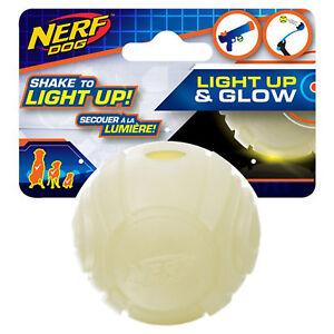 NERF LED Light Up & Glow Sonic Ball - Nerf Dog
