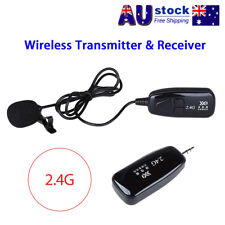 2.4G Wireless Microphone Lapel-Style Voice Amplifier MIC Receiver&Transmitter