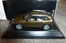 AUDI Q5 TDI 2012 MAYABRAUN SCHUCO 07561 1/43 BROWN METALLIC METAL ROAD CAR
