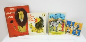 Job Lot of Childrens Vintage Story Books The Happy Lion Roars Little Bears Pony