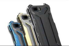Aluminum Steel Metal Shockproof Bumper Cover Case For iPhone X 7/8+ Samsung S9 +
