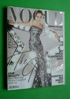 Vogue UK December 2007 Sienna Miller Kate Moss Naomi Campbell Sasha Pivovarova