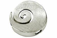 SILBERMOOS Anhänger Schmuck Halskette Kette Spirale Sterling Silber 925