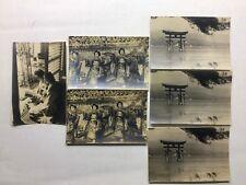 6 RPPC Japan Travel Travel Bureau World War II Era 3 Different