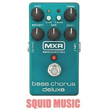 MXR DUNLOP BASS CHORUS DELUXE PEDAL Bucket-Brigade Technology M83 ( OPEN BOX )