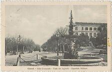 CHIETI - VILLA COMUNALE - VIALE DEI LAGHETTI - OSPEDALE MILITARE 1916