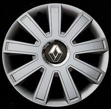 "Brand New silver 15"" wheel trims to fit Renault Scenic, Megane, Kangoo"