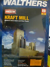 Walthers Cornerstone HO #3900  Kraft Mill - Superior Paper -- Kit Form (NEW)