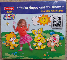 FISHER PRICE   If Your Happy and You Know It    2CD pkt -  FREE POST