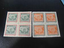 CHINA PRC 1950 C7 Postal Congress Reprint Blk/4 MNH-XF