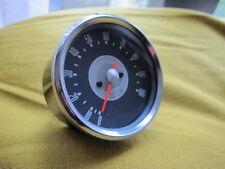 3:1 ratio Authentique Gris Côté tachometer TACHO Noir Housse pour BSA A65 A50
