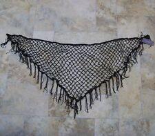 River Island Womens Black Shawl Scarf Hip BNWT Brand New Ladies Wrap Band Stole