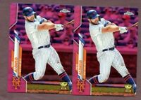 2020 Topps Chrome Pink Refractor   Pete Alonso    #80