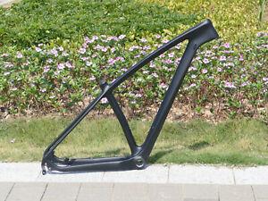 """2021 carbon Matt 29er MTB Mountain Bike Frame 19"""" 142mm * 12mm AXLE QR 135 * 9mm"""
