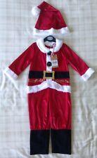 Boys Father Christmas/Santa Fancy Dress Up Costume ~ Nativity Play? ~ 1-2 Years