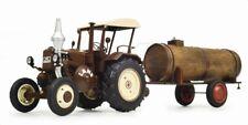 SCHUCO 450769900 Traktor Lanz Bulldog mit Dach + Güllefass-Anhänger 1:32 - NEU