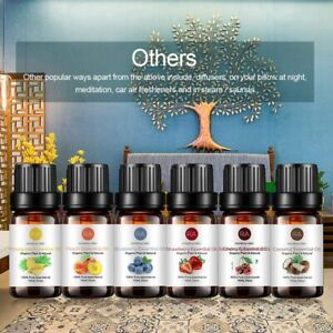 Top 6 Essential Oil Set 100% Pure Aromatherapy Oils for Massage Spa Perfume